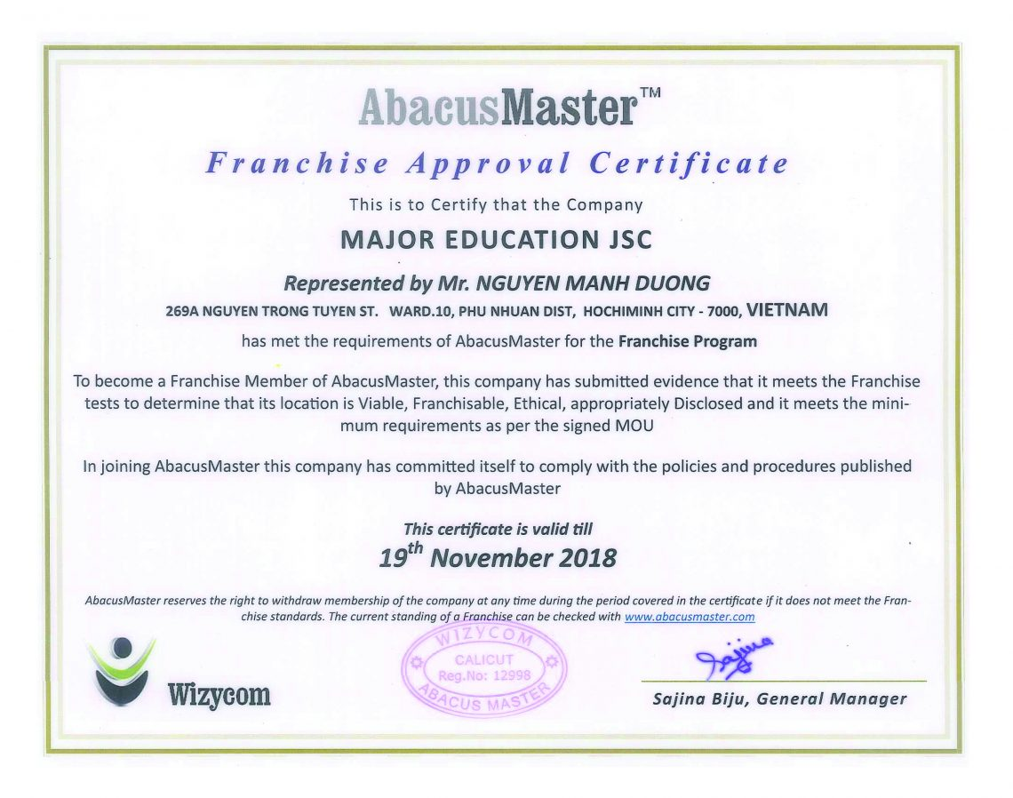abacus-certificate-company