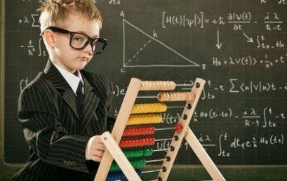 Toán soroban – Cách nhận biết trẻ thông minh về toán học và logic
