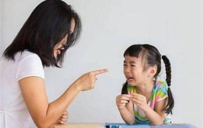 Toan tu duy – Những sai lầm của cha mẹ trong việc nuôi dạy con