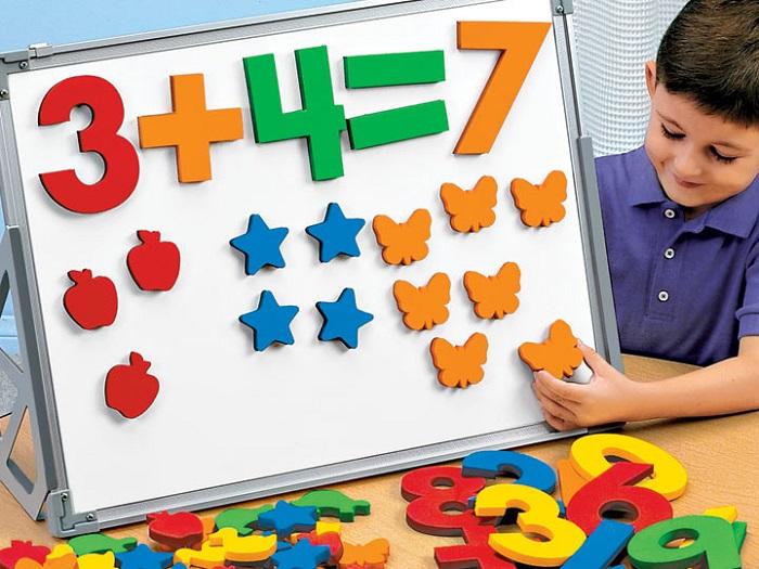 Làm thế nào để trẻ mầm non yêu môn toán – Toán tư duy