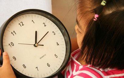 Dạy trẻ cách tránh lãng phí thời gian – Toán tư duy