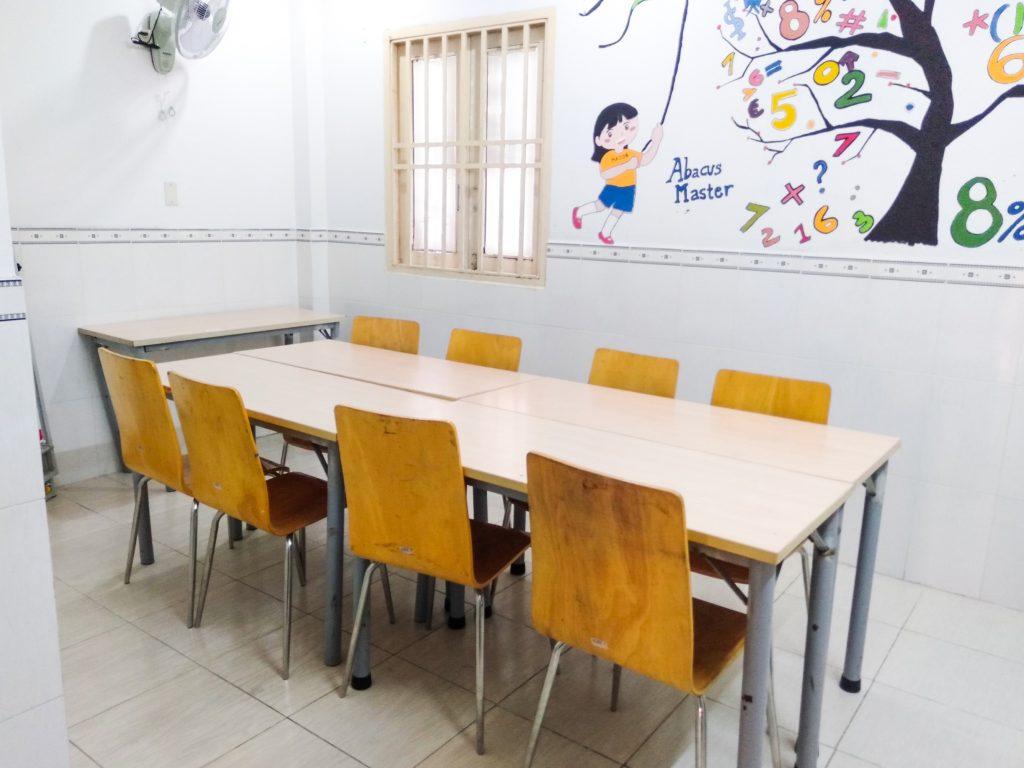 Phòng học thân thiện mới mẻ