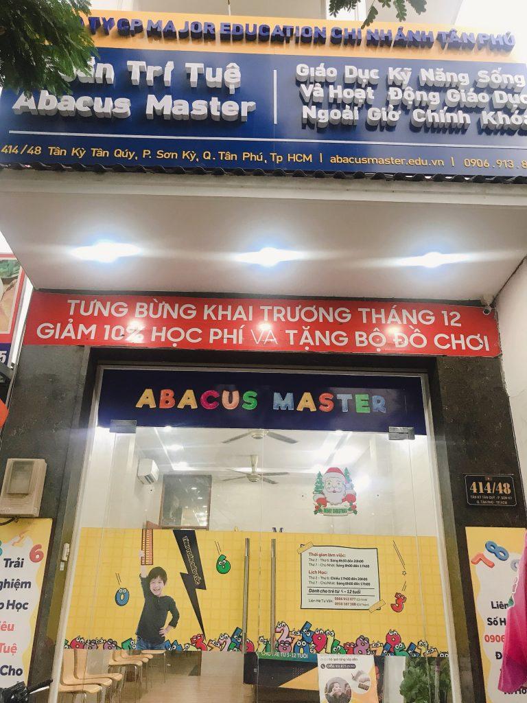 Trung Tam Toan Tri Tue Abacus Master Tan Ky Tan Quy Quan Tan Phu