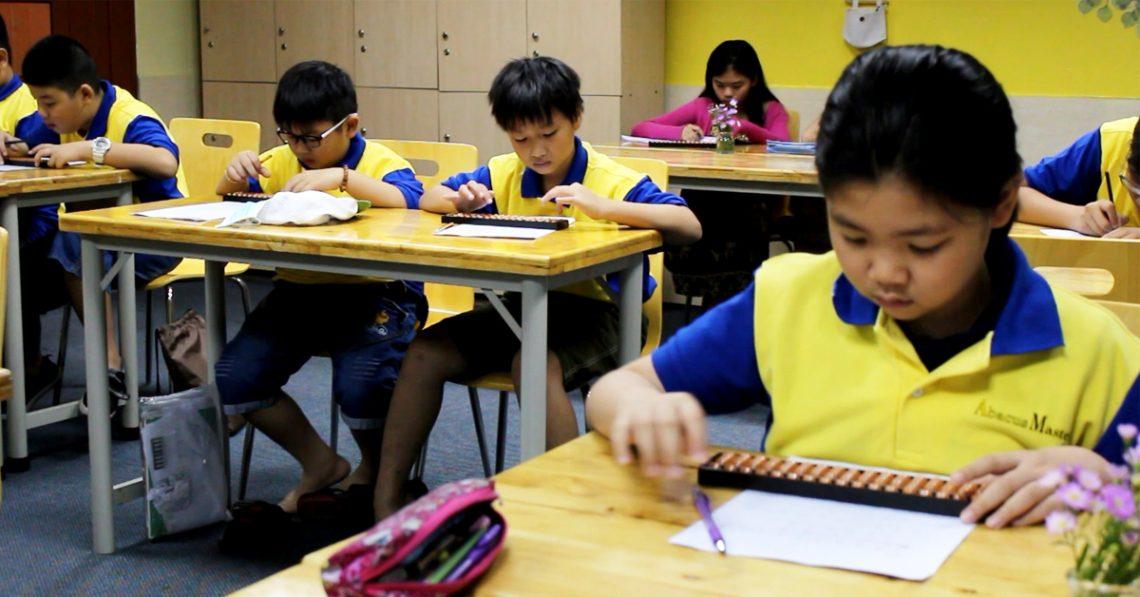 Trung tâm dạy toán trí tuệ Abacus Master