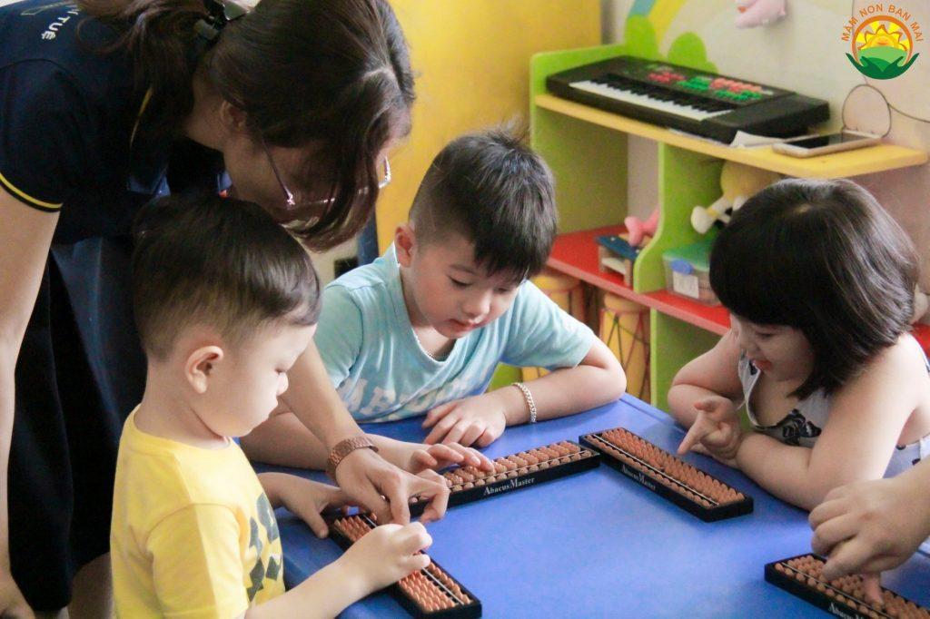 phương pháp giảng dạy toán trí tuệ abacus master